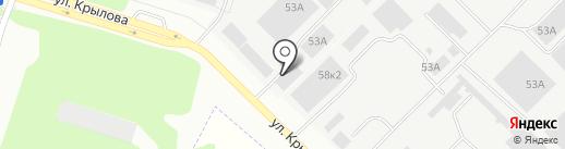 Марспецмонтаж, ЗАО на карте Йошкар-Олы