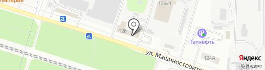 Магнат на карте Йошкар-Олы