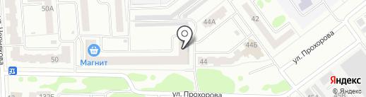 Магазин бытовой химии на карте Йошкар-Олы