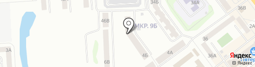 Васильева-36, ТСЖ на карте Йошкар-Олы