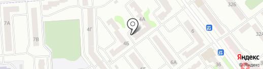 Рубин, ЖСК на карте Йошкар-Олы