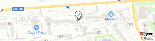 Калинка на карте Йошкар-Олы