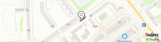 Спецмонтаж на карте Йошкар-Олы