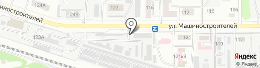 Йошкар-Олинские электрические сети, ПО на карте Йошкар-Олы