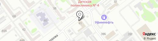 Силби на карте Йошкар-Олы