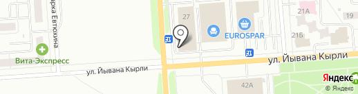 Экспресс Сервис на карте Йошкар-Олы