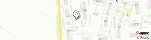 ПМК-3, ЗАО на карте Йошкар-Олы