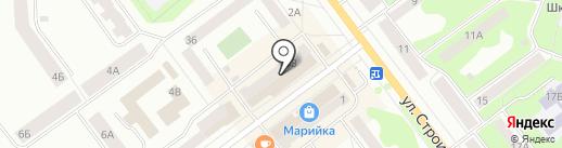 Касса №1 на карте Йошкар-Олы