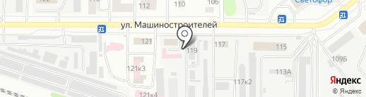 Республиканская ветеринарная лаборатория на карте Йошкар-Олы