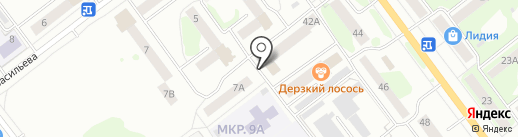 Почта банк, ПАО на карте Йошкар-Олы