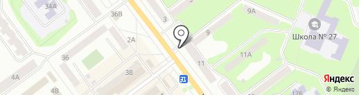 Стиль на карте Йошкар-Олы