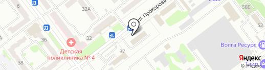 Строительная фирма на карте Йошкар-Олы
