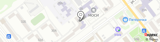 Центральная библиотека г. Йошкар-Олы на карте Йошкар-Олы
