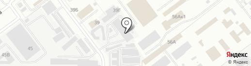 Транзит на карте Йошкар-Олы