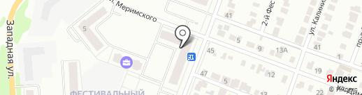 СПП Салют, ЗАО на карте Йошкар-Олы
