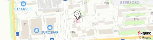 Монотоп на карте Йошкар-Олы