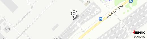 Луч на карте Йошкар-Олы