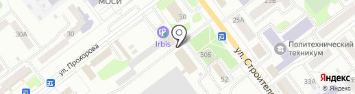 Максимум на карте Йошкар-Олы