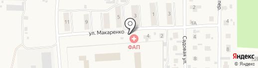 Светлый фельдшерско-акушерский пункт на карте Светлого