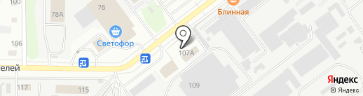 Дозор на карте Йошкар-Олы