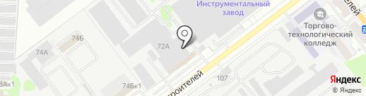 Интекрон на карте Йошкар-Олы
