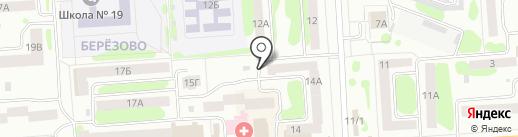 Лучик на карте Йошкар-Олы