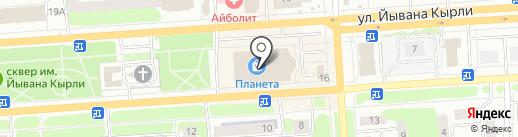 Банкомат, АКБ Связь-банк, ПАО на карте Йошкар-Олы