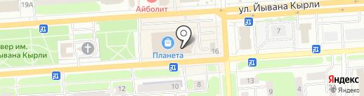 Фотоцентр на карте Йошкар-Олы