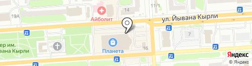 gGlory на карте Йошкар-Олы