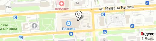 Tele2 на карте Йошкар-Олы