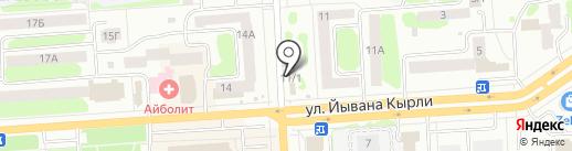 Шашлычный дворик на карте Йошкар-Олы