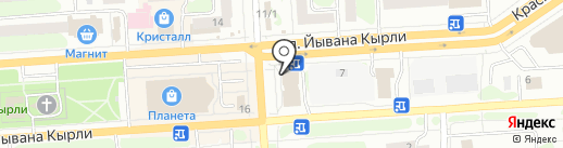 TONUSCENTR на карте Йошкар-Олы
