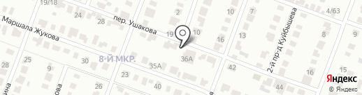 Рябушка на карте Йошкар-Олы