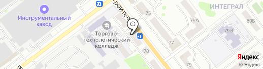 Крепеж на карте Йошкар-Олы