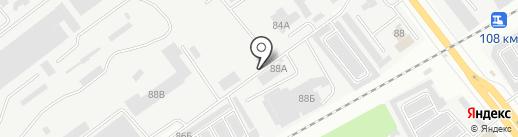 СМУ-15 на карте Йошкар-Олы