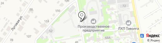 Автосервис по ремонту коммерческого транспорта на карте Йошкар-Олы