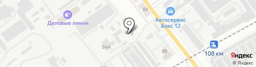 ЭЛЕКТРОТЕХНОПАРК на карте Йошкар-Олы