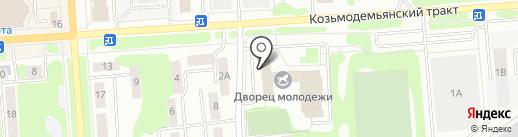 Кабинет логопеда на карте Йошкар-Олы
