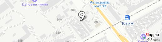 Топаз на карте Йошкар-Олы