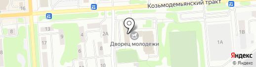 Калинушка на карте Йошкар-Олы