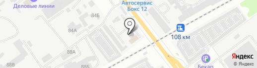 Теремъ 12 на карте Йошкар-Олы