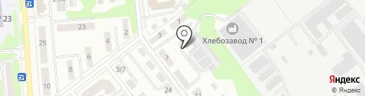 На зелёной 9 на карте Йошкар-Олы