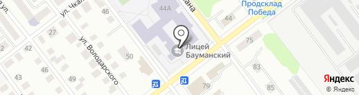 Лира на карте Йошкар-Олы