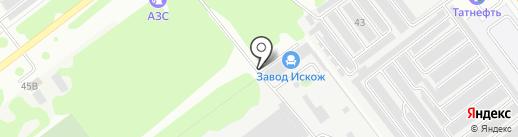 ИскожСервис на карте Йошкар-Олы