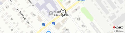Магазин игрушек на карте Йошкар-Олы