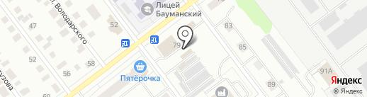 StarLine на карте Йошкар-Олы