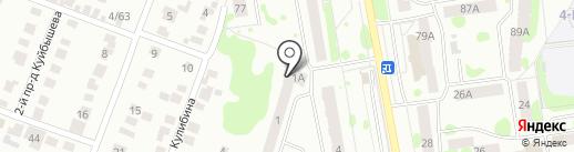 Кулибина-1, ТСЖ на карте Йошкар-Олы