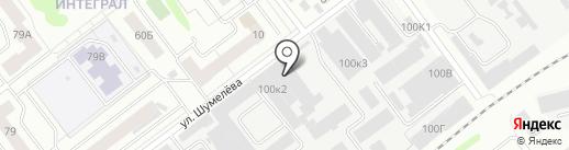Pashok Garage на карте Йошкар-Олы