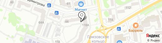 Мастерская по изготовлению ключей на карте Йошкар-Олы