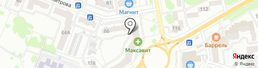 Гомзовское, ТСН на карте Йошкар-Олы